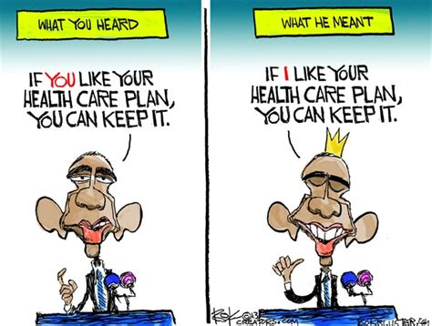 Obamacare 'truth' (in One Cartoon)