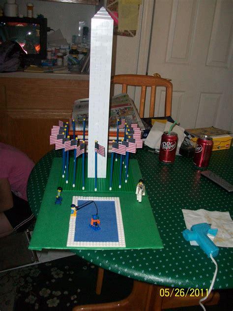 lego washington monument  daughter built   school