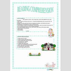 Reading Comprehension Worksheet  Free Esl Printable Worksheets Made By Teachers