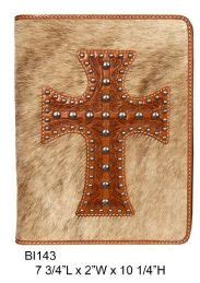Cowhide Bible Cover by Bible Covers 3d Bible Cover Cowhide Tooled Cross Bible