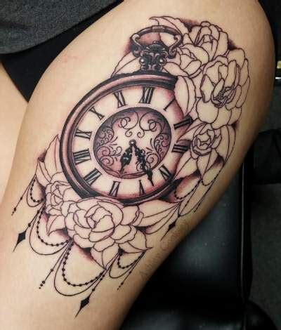 mind blowing thigh tattoos  women