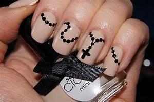 Rosary Nail Art Designs Patterns