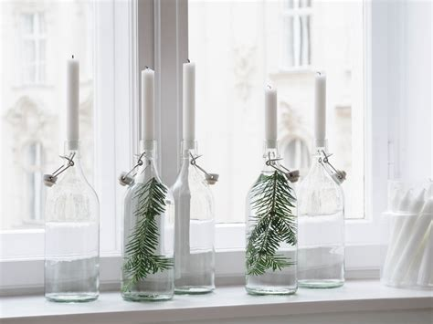 Kerzenhalter Aus Flaschen Mit