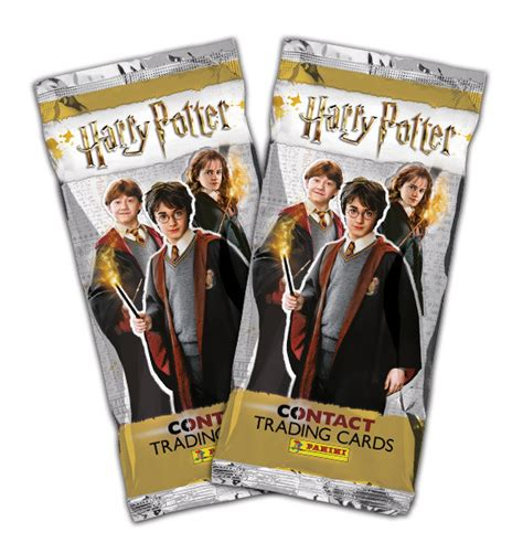 panini united kingdom harry potter contact trading cards