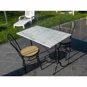 Table Bistrot Ancienne : table bistrot en marbre ref 1378 bourges ~ Melissatoandfro.com Idées de Décoration