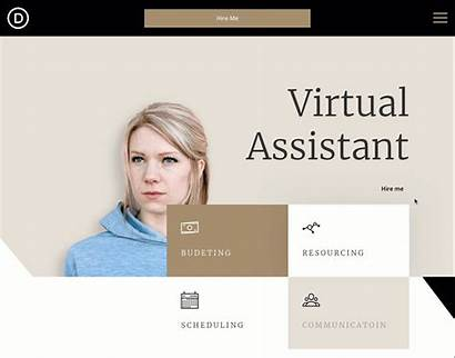 Assistant Header Footer Virtual Divi Layout Pack