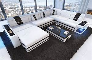 Big Sofa Mit Led : bank carezza xxl met led verlichting nativo design meubelen ~ Frokenaadalensverden.com Haus und Dekorationen