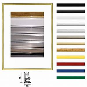 Bilderrahmen 100 X 80 : kunststoff bilderrahmen 80x100 cm profilbreite 7 mm ~ Watch28wear.com Haus und Dekorationen