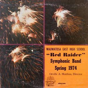 1974 symphonic band concert