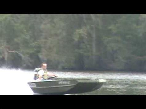 Jet Boat Jumping Beaver Dam by 40 Hp Yamaha On 1542 War Eagle Doovi