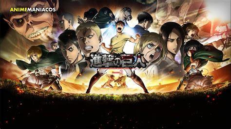 shingeki  kyojin ataque  los titanes temporada  prev