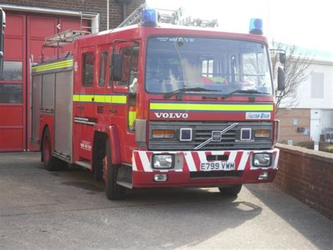 fire engines   clwyd volvo fl  north wales frs