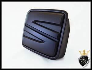 Skoda Logo Schwarz : seat emblem schwarz leon 5f heckklappe von rb styling aus ~ Jslefanu.com Haus und Dekorationen