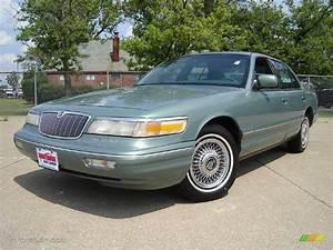 1997 Vermont Green Metallic Mercury Grand Marquis Gs  14300596