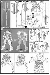 Hg Gundam Barbatos English Manual  U0026 Color Guide