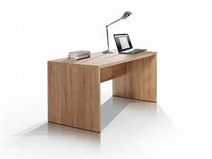 Schreibtisch 140 Cm : camillo schreibtisch 140 cm breit sonoma eiche ~ Indierocktalk.com Haus und Dekorationen
