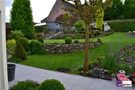 Garten Gestalten In Hanglage by Steinmauer Garten Steinmauer 10 Jahre Und