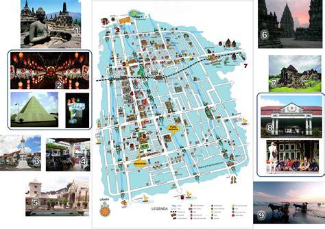 map  yogyakarta indonesia yogyakarta borobudur