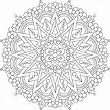 Mandala Mondaymandala sketch template