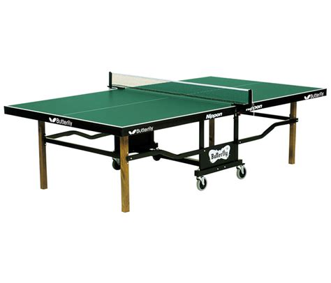 free ping pong table butterfly t24 nippon rollaway ping pong table