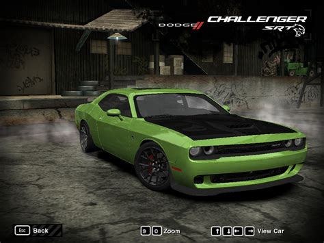 Need For Speed Most Wanted Dodge Challenger Srt Hellcat