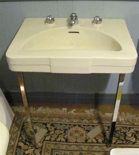 vintage crane diana lavatory console sink dea