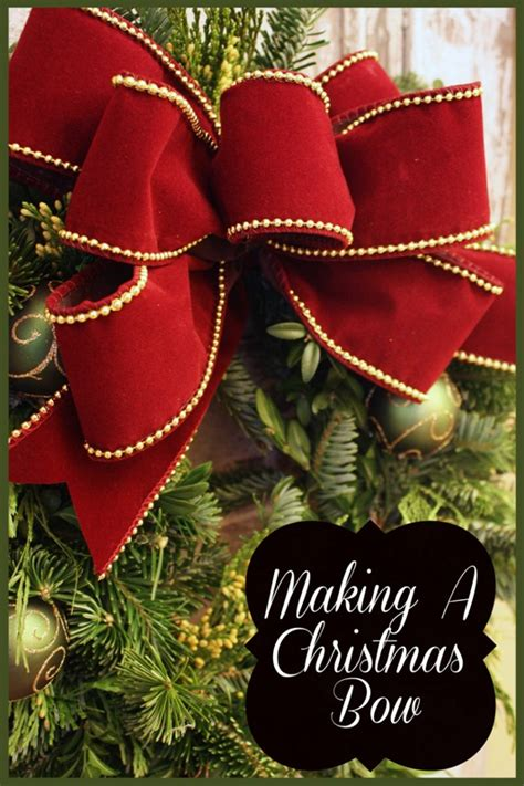 how to do christmas bows the easiest way to make a live wreath stonegable