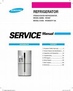Samsung Rf28k9070 Rf28k9070sr Rf28k9070sg Refrigerator