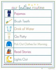 25+ best ideas about Bedtime routine chart on Pinterest ...