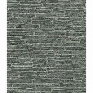 Papier Peint Fausse Pierre : tapisserie fausse brique affordable profonde en relief d ~ Dailycaller-alerts.com Idées de Décoration