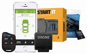 Best Buy  Dronemobile Smartphone Remote Start System With