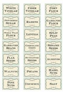 free printable kitchen spice labels free printables With what kind of paint to use on kitchen cabinets for return label stickers
