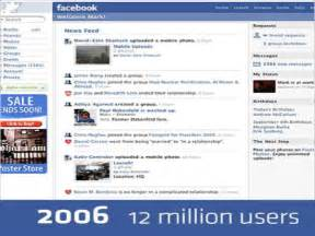 Facebook 2006 Layout Happy birthday facebook ! changing face of the ...