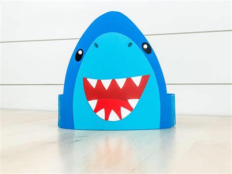 Shark Headband Craft For Kids [Free Template]