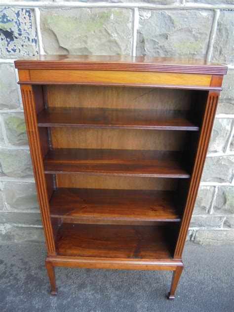 Bookcases For Sale Cheap by Edwardian Slim Mahogany Open Bookcase Am La69903