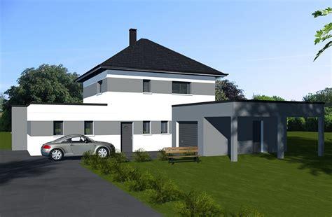 Toiture Maison En L by Maisons Toiture Terrasses Constructeur De Maisons Sur
