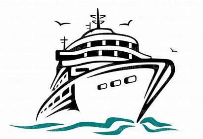 Cruise Svg Clipart Ship Cruises Disney Clipground