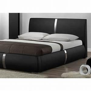 Lit Moderne Design : model de lit moderne a voir modele lit moderne trouver modele lit 2 places en bois image ~ Nature-et-papiers.com Idées de Décoration