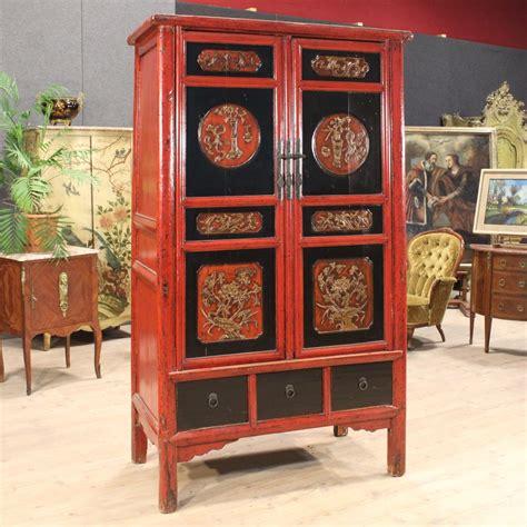 dipingere un armadio di legno armadio cinese in legno laccato xx secolo