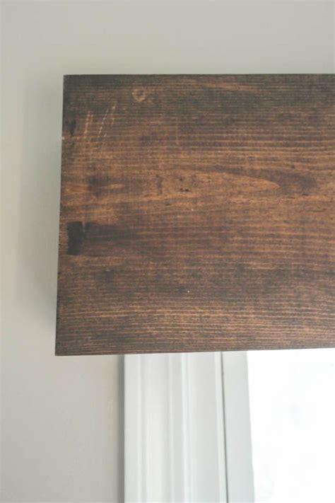 wood valance sypsie designs crafts wood valance kitchen window blinds wooden valance