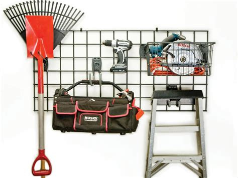 hyloft heavy duty ceiling storage unit garage storage hooks and hangers hgtv