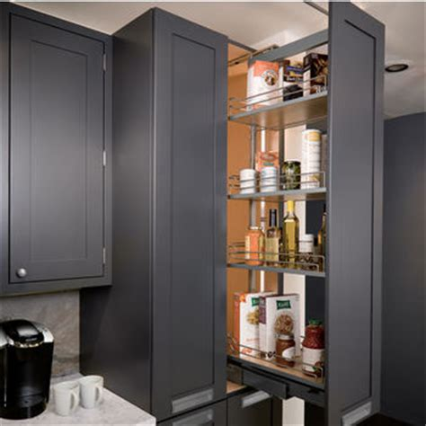 kitchen pantry cabinet with pull out shelves pantry pullout shelves and baskets view and reach items 9824