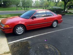 Acura Integra Hatchback 1991 Red For Sale