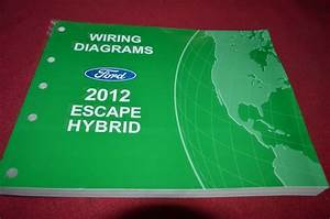 Ford Escape Hybrid 2012 Dealer Wiring Diagram Manual Bapa