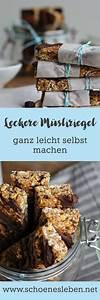 Gesunde Süßigkeiten Selber Machen : m sliriegel selber machen gesunder snack to go desserts pinterest ~ Frokenaadalensverden.com Haus und Dekorationen