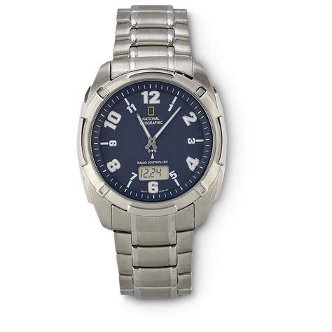 National Geographic™ Radio  Controlled Watch 155120