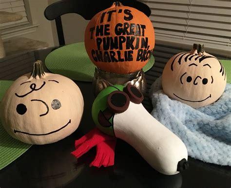 Its The Great Pumpkin Charlie Brown Painted Pumpkins