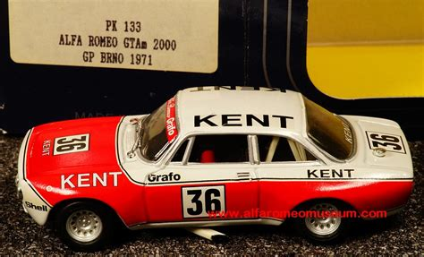 Alfa Romeo Kent by 1971 Giulia Sprint 2000 Gtam Gp Brno Kent 1 43