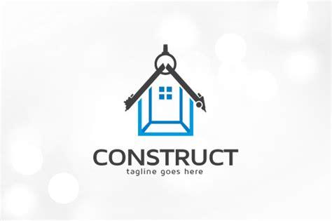 construction logo template logo templates  creative market