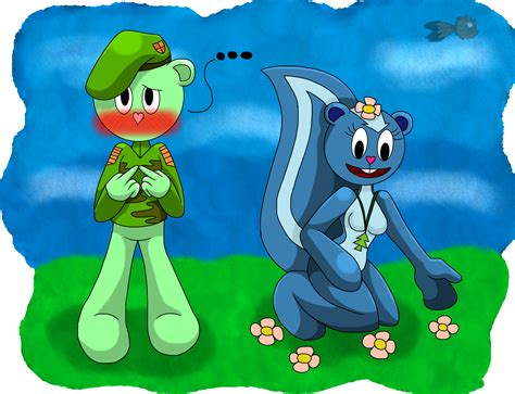 Flippy X Petunia By Michelle-bandi-wolf On